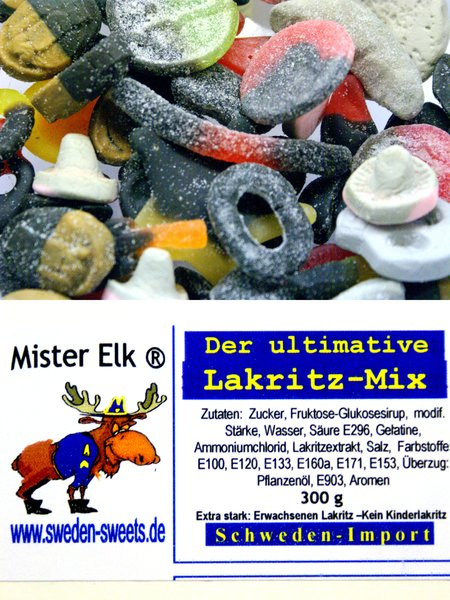 MISTER ELK_ Der ultimative Lakritz Mix