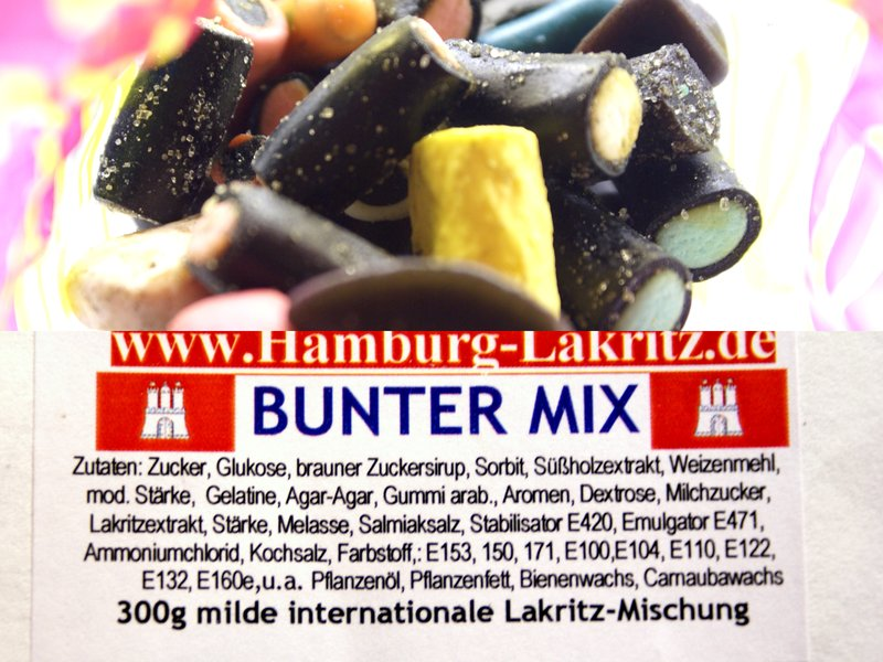 Hamburg-Lakritz Bunter Mix