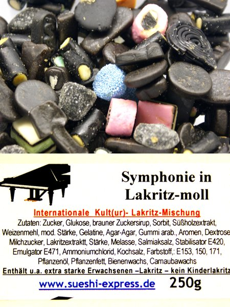 Symphonie in Lakritz-Moll