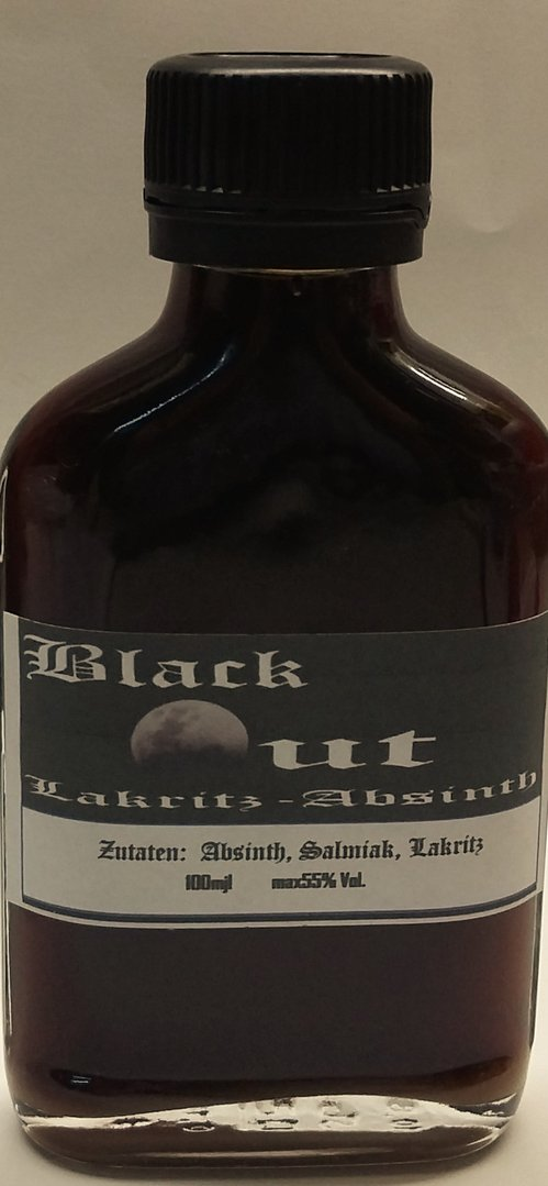 Black Out, Lakritz-Absinth