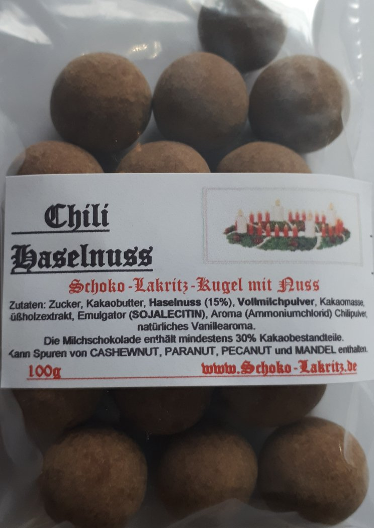 Chili Haselnuss